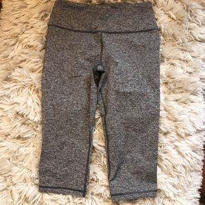 Victoria's Secret Sport Gray Crop Leggings